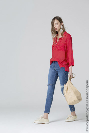 Blusas moda mujer verano 2017 ropa de mujer 2017.