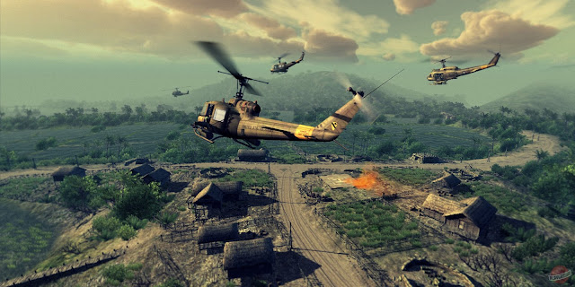 Heliborne PC beta, Early Access, Indie, Massively Multiplayer, mmo, free, heliborne free, heliborne Multiplayer, chopper combat simulator, helicopter simulator