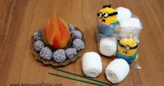 Minion Marshmallow Roast
