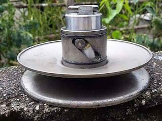 Trik ini dapat membantu meringankan bukaan pully belakang sehingga akselerasi bisa lebih cepat serta jalur sliding pin jd awet.