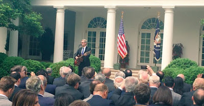 Steven Curtis Chapman Performed At National Day Of Prayer Ceremony In White House