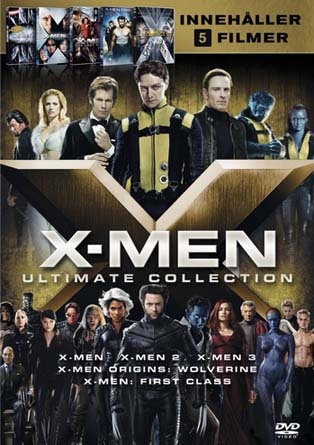 X-Men All Movies Collection (2000-2016) 720p | 480p Dual Audio BluRay [Hindi-English] Download