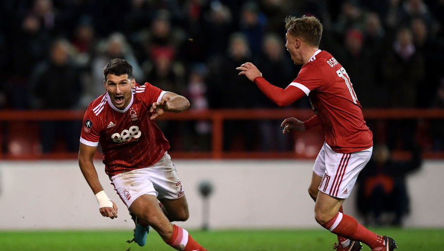 Holders Arsenal knocked out of FA Cup by Nottingham Forest