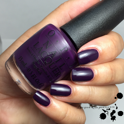 swatch and review of O Suzi Mio from opi 2015 venice collection