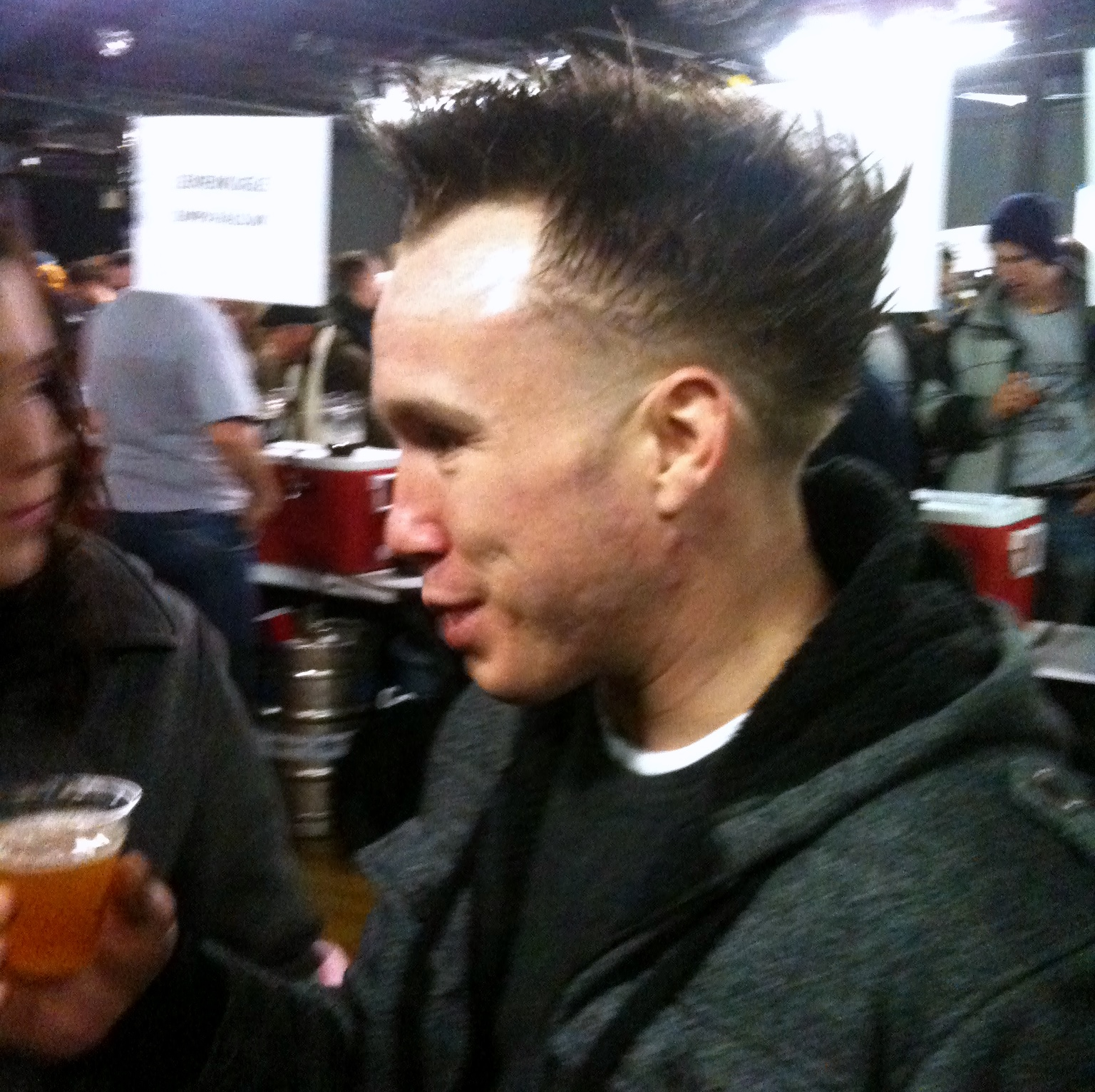 I Spent Last Saturday Shamelessly Photographing The Craft Beer Geek Version Of Pauly D In Between Gulps Of Beers Whose Average  Abv Was In The Upper 9s