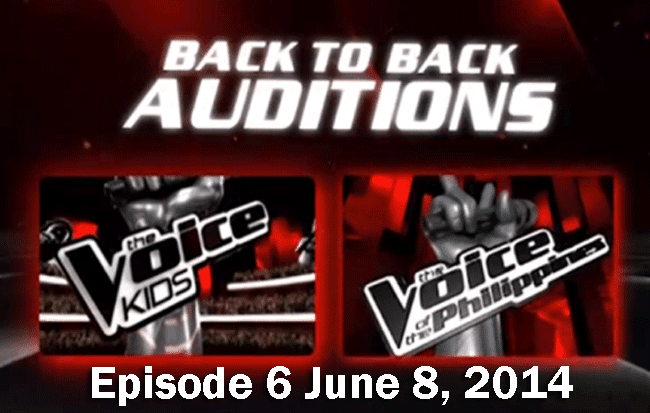 The Voice Kids Episode 6 June 8, 2014