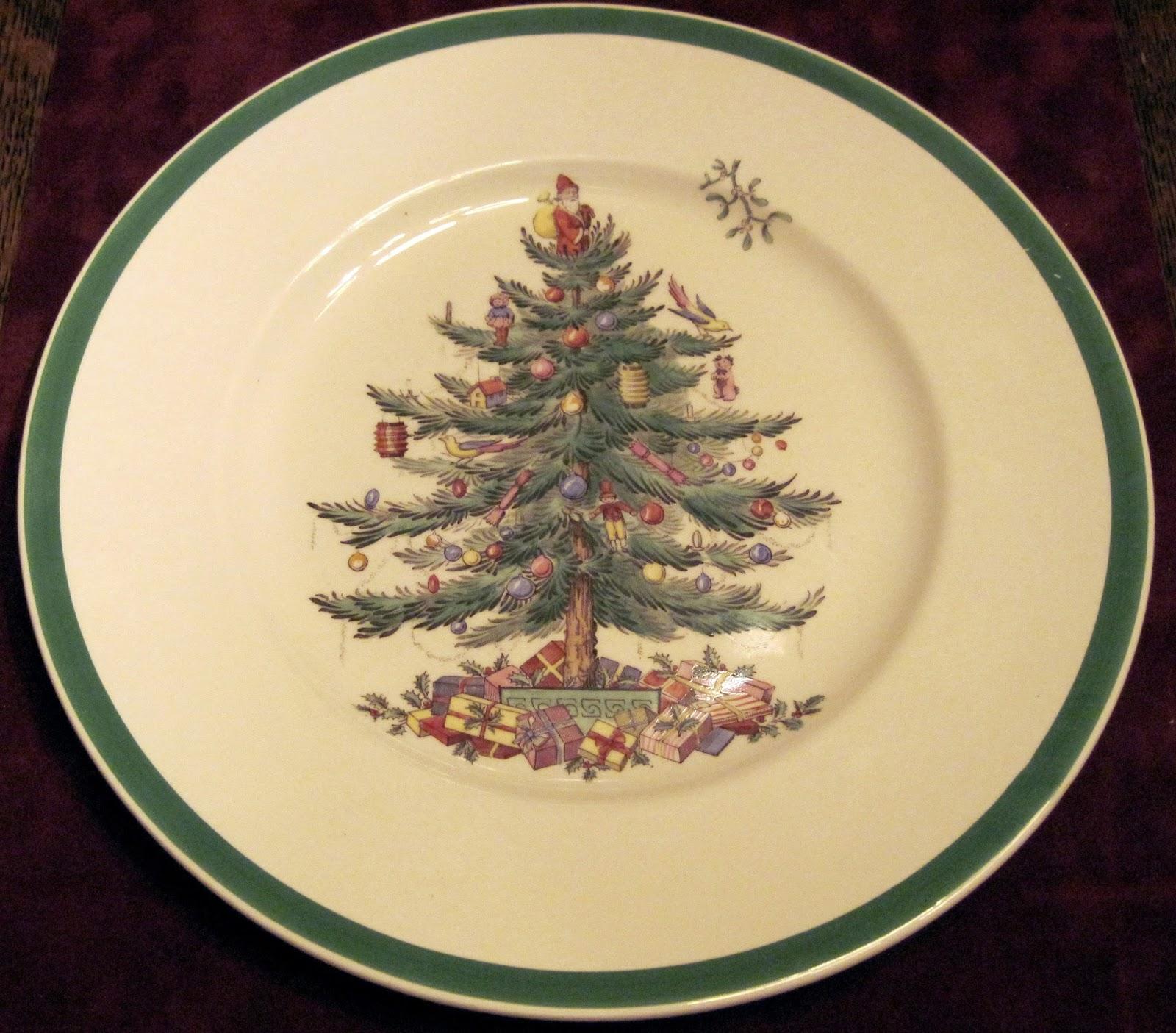Spode Christmas Plates.Spode History Spode Christmas Tree And New Information