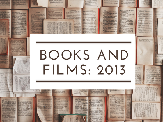 2013 books and films