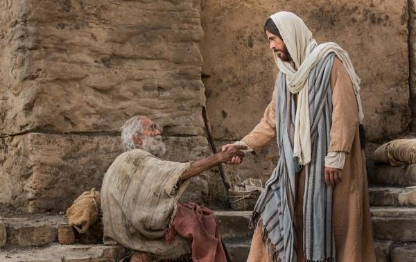 Resultado de imagem para jesus com os pobres