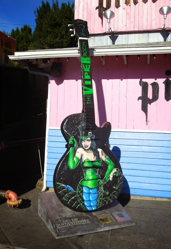 Serpent Sirena The Viper Room guitar tribute