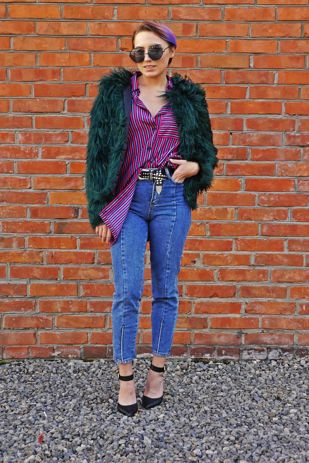 3a_green_fur_stripes_shirt_karyn_blog_modowy_031017f