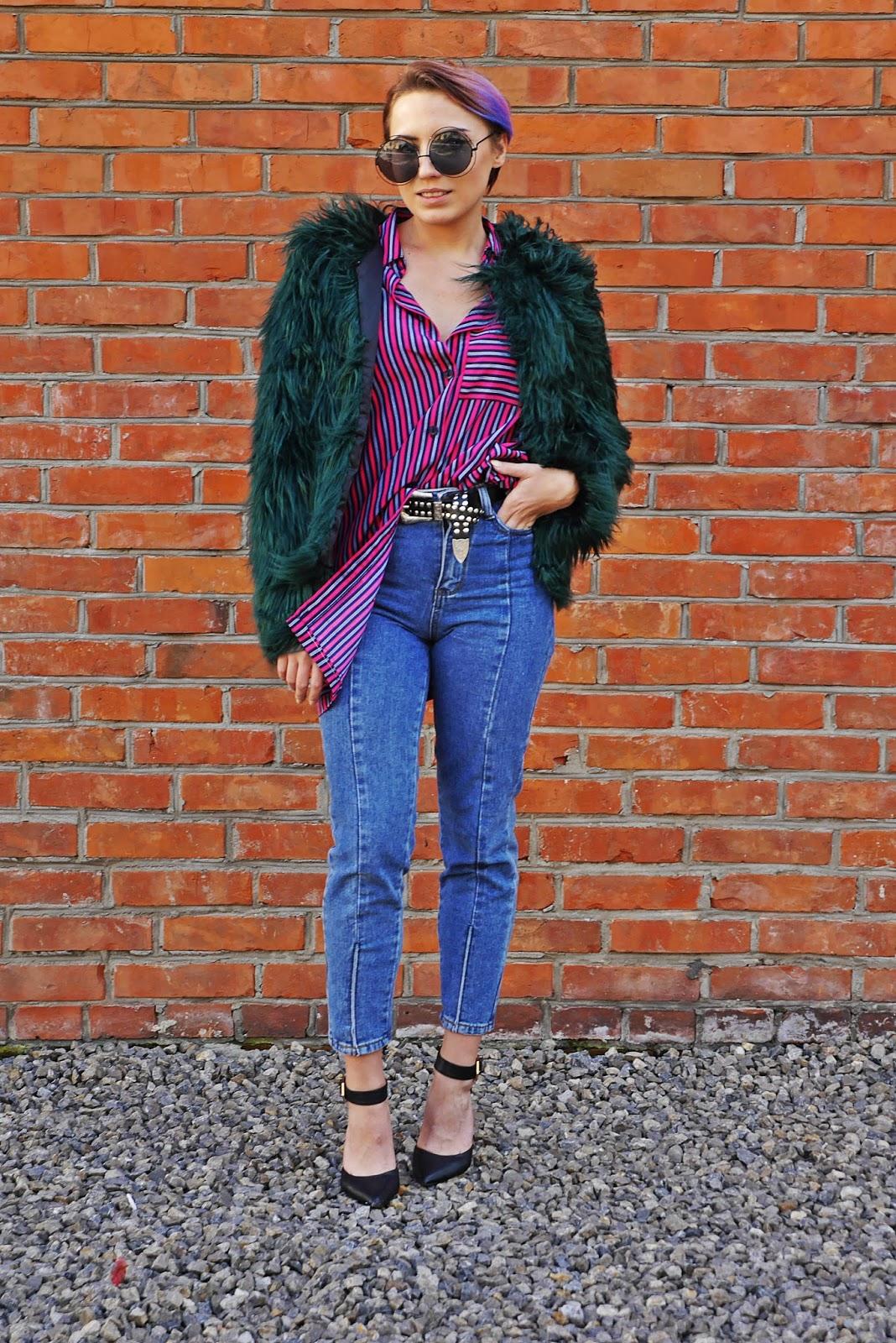 3a_green_fur_stripes_shirt_karyn_blog_modowy_031017f
