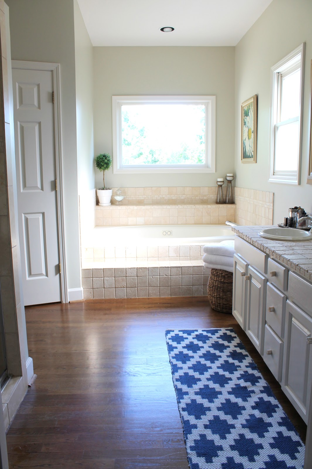 The Big Master Bathroom Debate - Our Fifth House Small Bathroom Designs With Wood Html on bedrooms with wood, white bathroom with wood, bathroom decorating with wood, lighting with wood, glass tiles with wood, small bathrooms tile, kitchen cabinets with wood, bathroom tiles with wood,