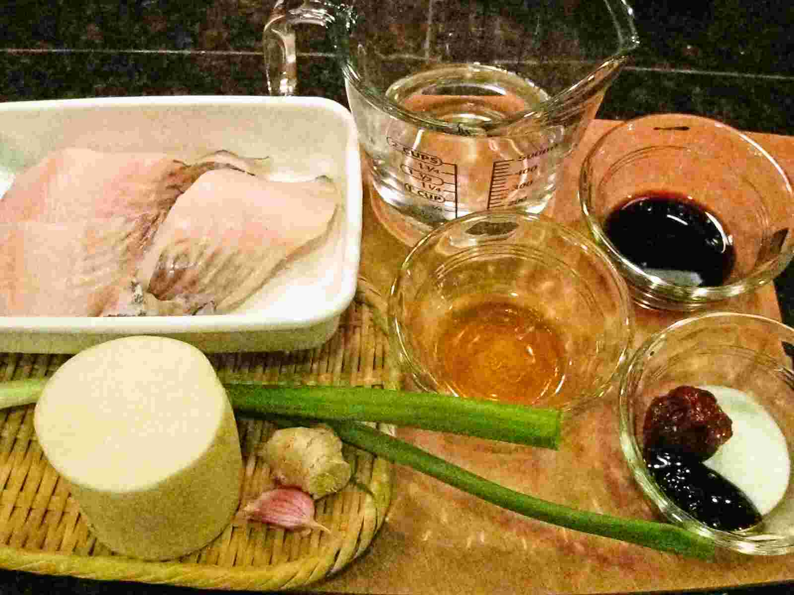 Recipes for Tom Gindara to daikon no pirikarani black