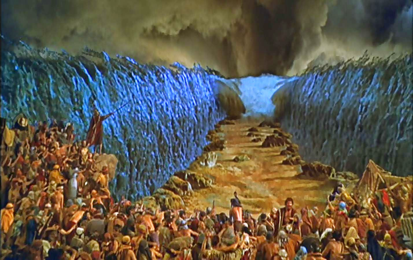 Secrets Of Moses Parting The Red Sea Version Scientists