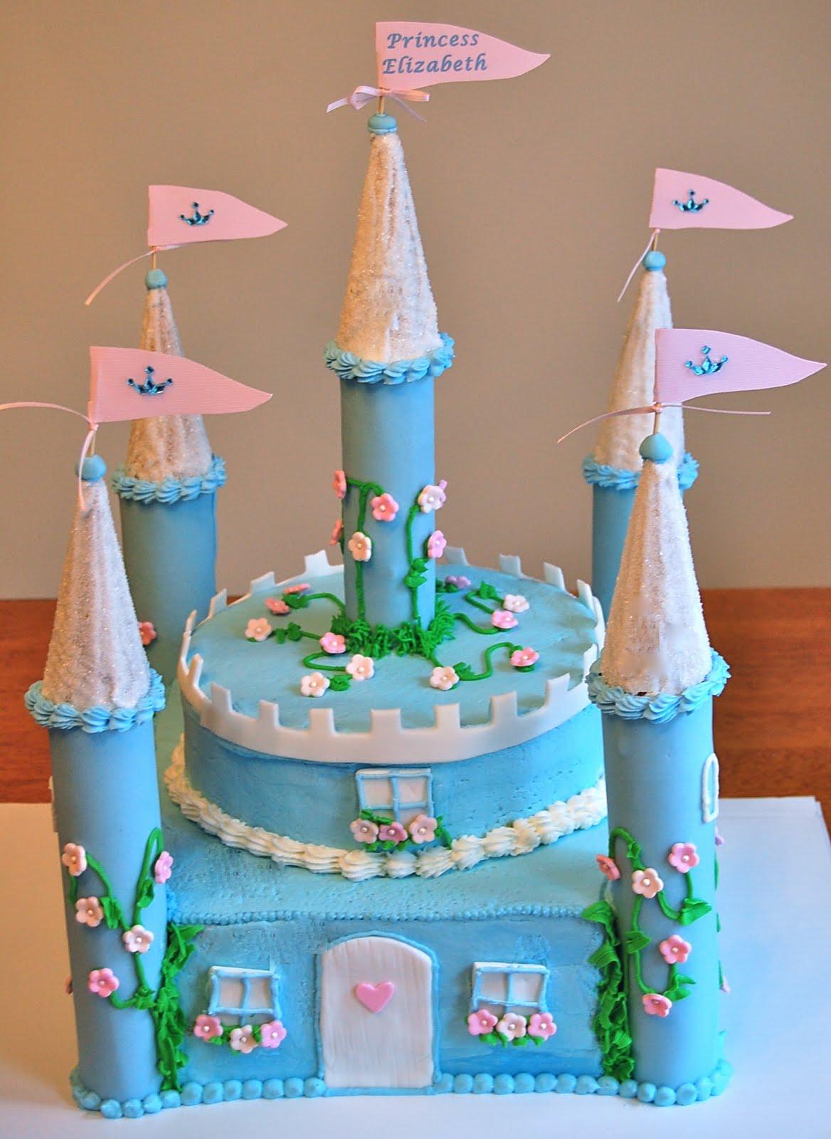 Chef Mommy Princess Castle Cake