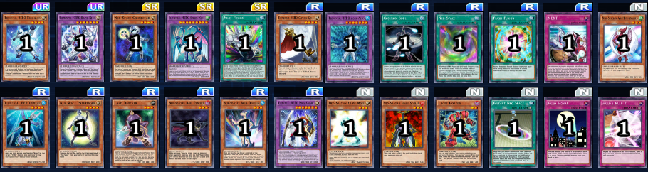 DGame Links | Duel Links: Structure Deck EX: Neos Fusion