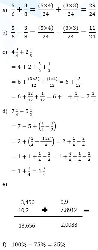 Download lagu soal psikotes matematika dasar terbaru 4.5 mb,. Operasi Bilangan Pecahan Skd Tkd Belajarbro