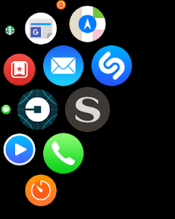 image of apple iwatch app page