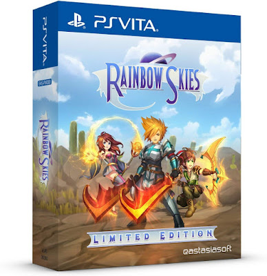 Rainbow Skies Game Cover Ps Vita Limited Edition