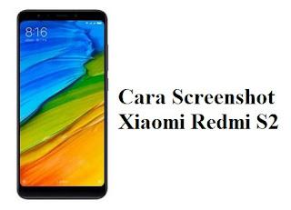 3 Cara Screenshot Xiaomi Redmi S2 Terbaru
