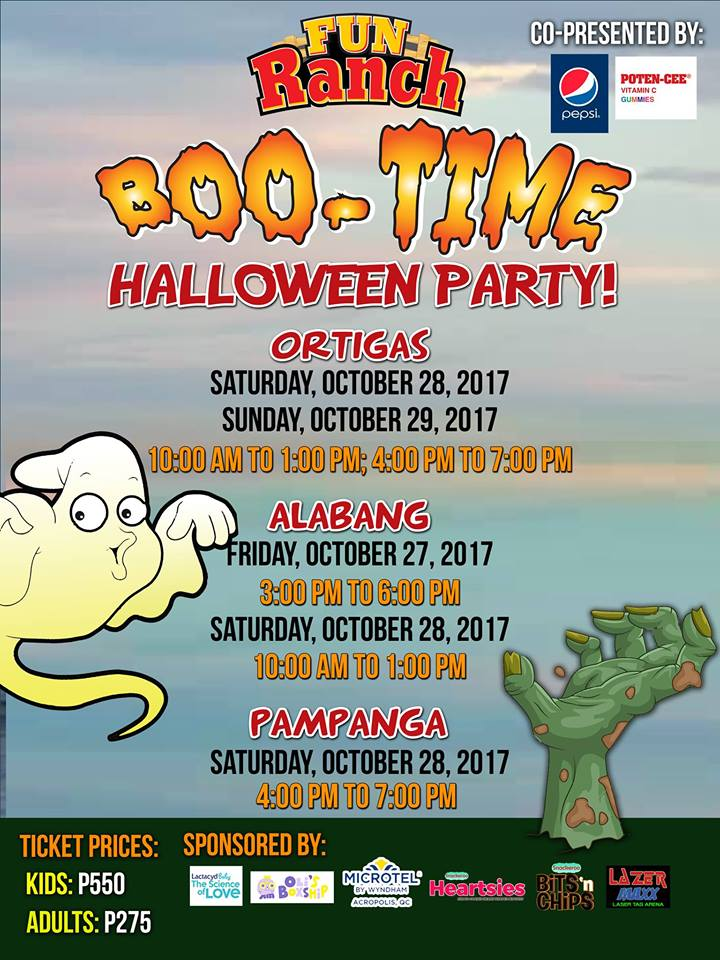 Updated : Halloween Events 2017 - Erica YuB