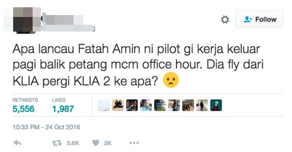 Babak Juruterbang Fattah Amin Dikritik Netizen, Ini Respon 'Pedas' Michael Ang MENGEJUTKAN!
