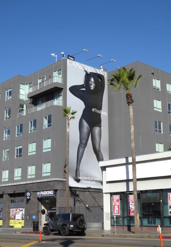 Lane Bryant Danielle Brooks This Body billboard