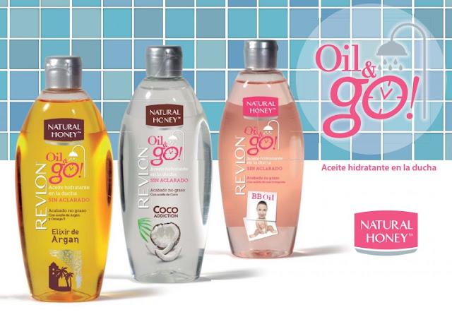 oil & go, natural honey, revlon, aceite hidratante, aceite corporal, youzz, cuidado de la piel, belleza
