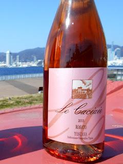 イタリアワイン Le Caciaie Rosato Toscana