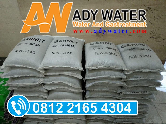 ADY WATER jual pasir garnet