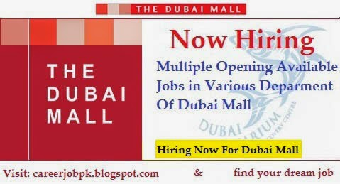 Latest Jobs In Emaar Dubai Marina Mall
