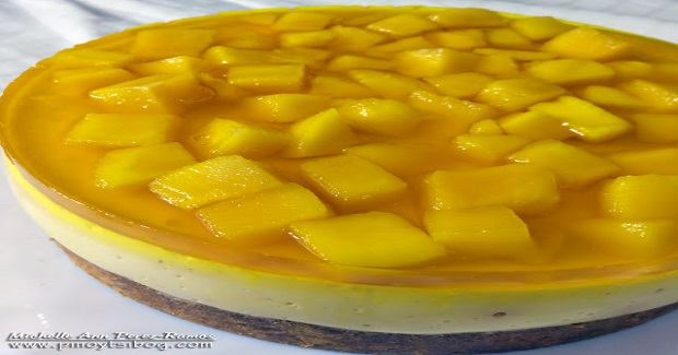 No Bake Mango Cheesecake Recipe