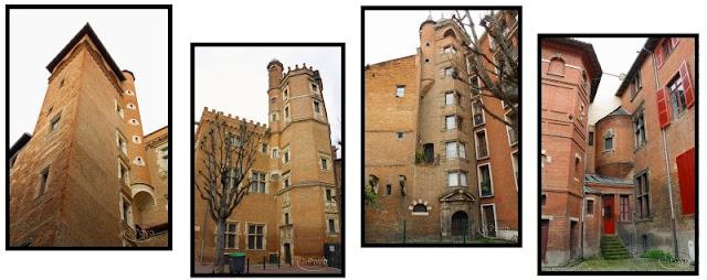 calle Ozenne de Toulouse