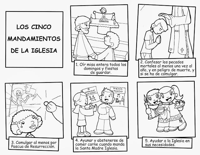 10 Sopa De Letras Los Mandamientos
