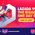 Lazada 11.11 Shopping Festival : JvGood Messenger Bag PU Leather Men Bag