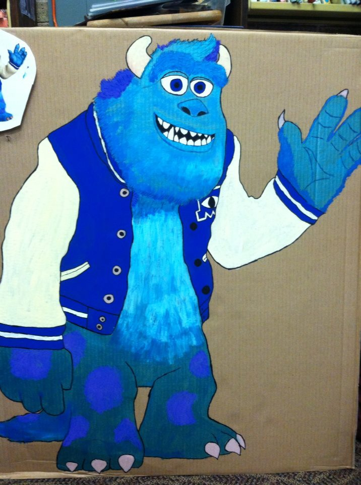 I Read To Relax Monsters University Party