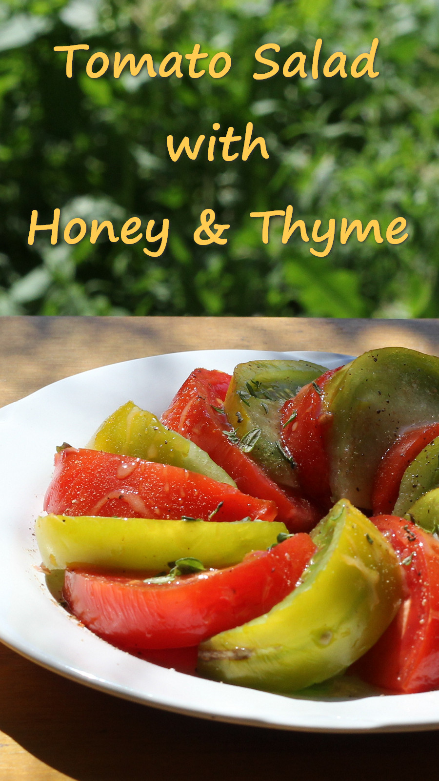 Tomato Salad with Thyme and Honey