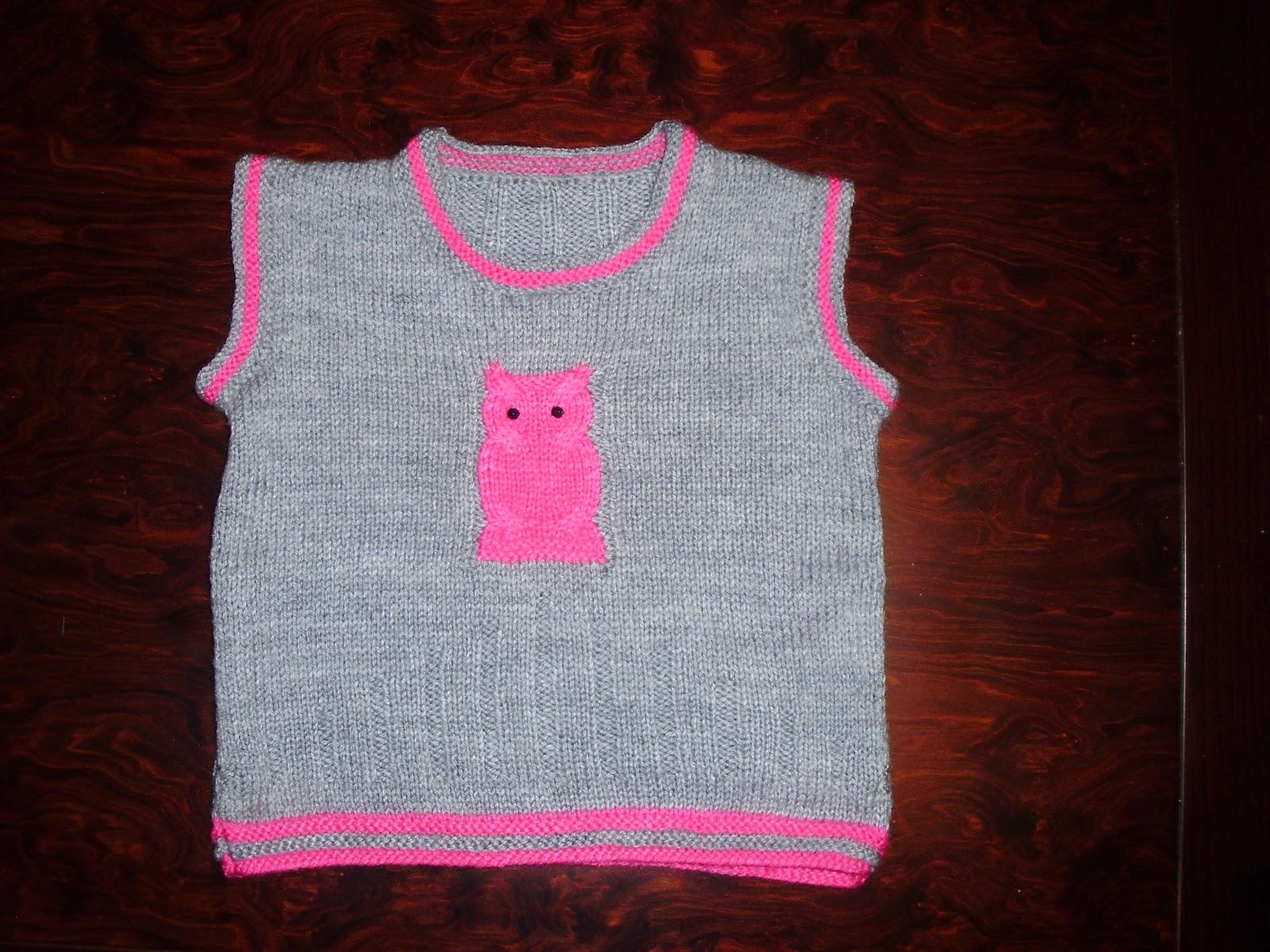 Victoria - Handmade Creations   Πλεκτό παιδικό αμάνικο πουλόβερ με ... 309257b857b