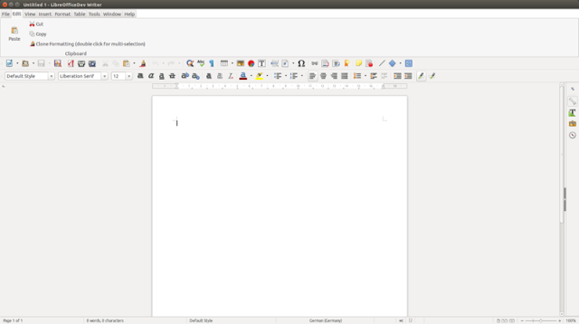 LibreOffice Notebookbar