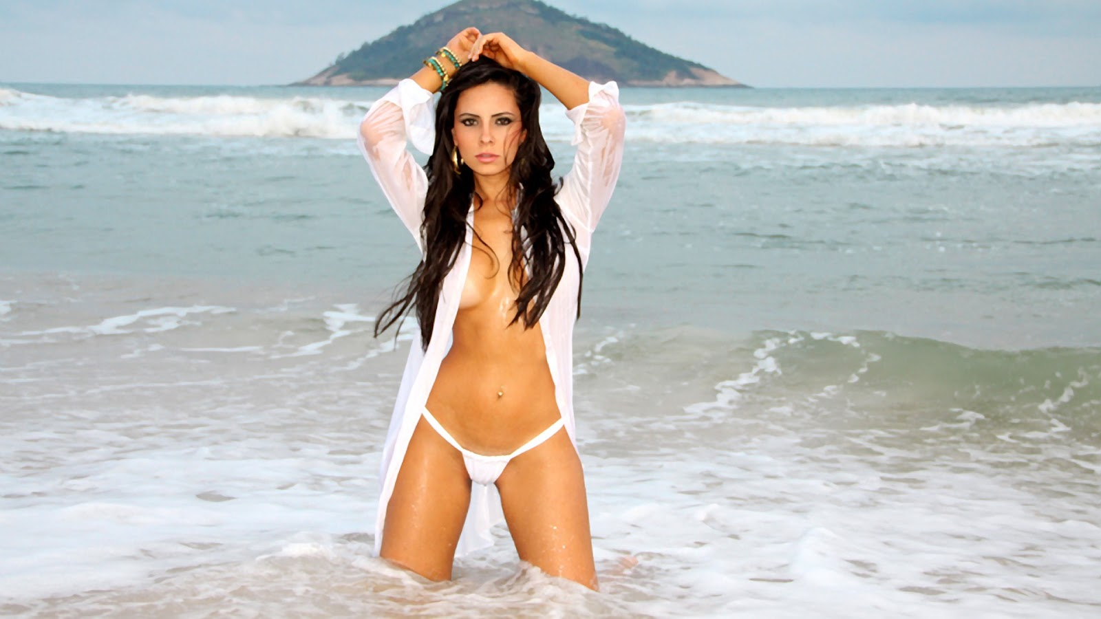 Hot Bikini Babes Hd Wallpapers  Sexy Hollywood And -8793