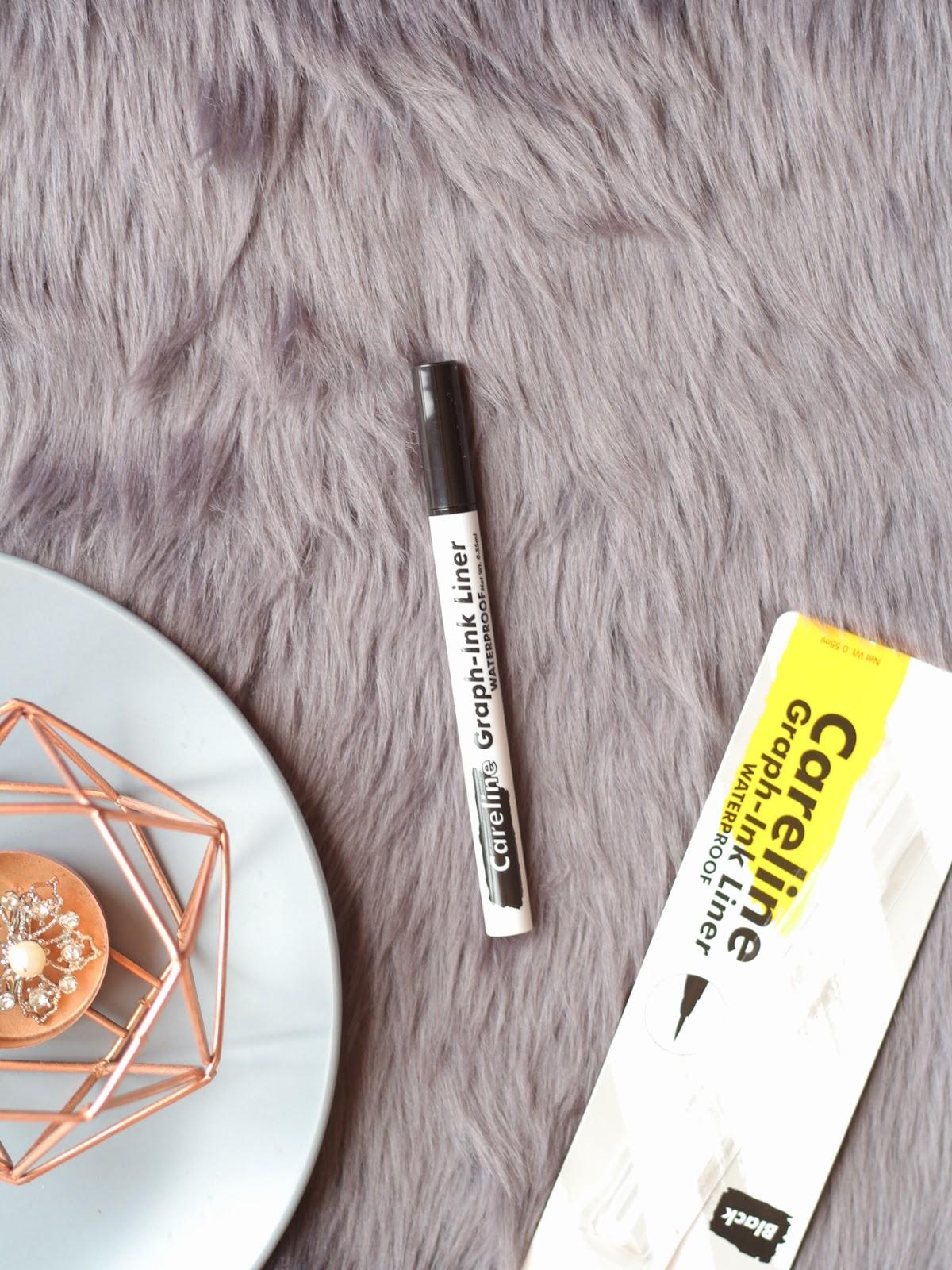 Careline Graph Ink Eyeliner Liner Review Stila Cosmetics Dupe