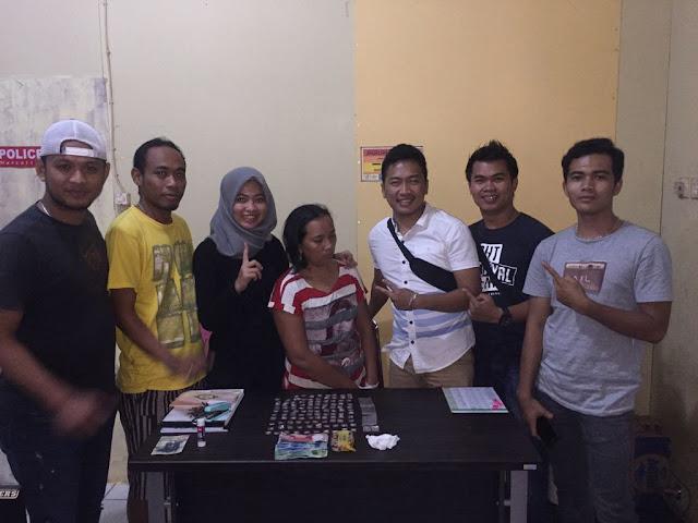 IRT Di Musi Banyuasin Ditangkap Kepolisian dan Diamankan 109 Paket Shabu