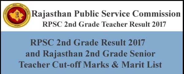 Result-सेकंड ग्रेड शिक्षक भर्ती 2016 के संस्कृत  विषय का परिणाम जारी,rpsc ने जारी किया परिणाम,इस लिंक पर जाकर देखें कटऑफ ओर लिस्ट