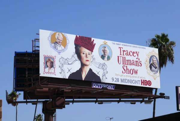 Tracey Ullmans Show season 3 billboard