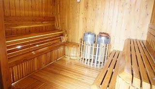 sauna en atrium