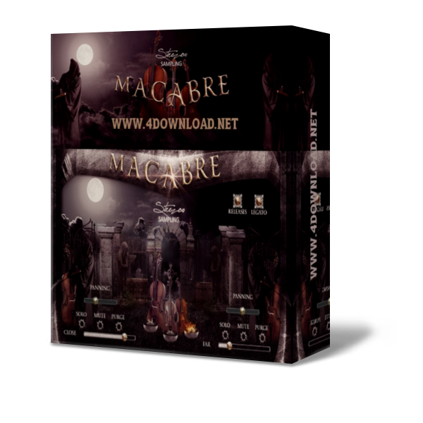 Strezov Sampling MACABRE Solo Strings v1.1 KONTAKT Library