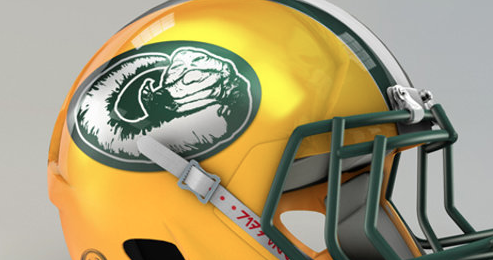 The Packers Unveiled Their New Helmet Logo To Honor Their Owners By Putting A Picture That Represents The Average Packer Fan Minnesotavikings