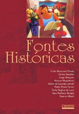 livro fontes históricas promocao