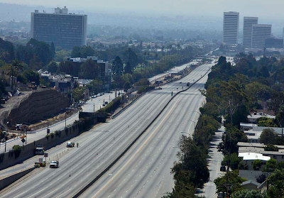 Carmageddon - photos from the LA Freeway Closure